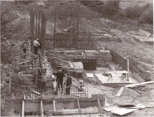 Construction begins on the Betatron building  -  Health and Safety legislation was a little different then?